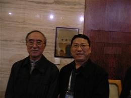必威官方网页校长与必威中国网站部王文湛司长交流合影